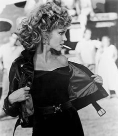 Grease @Erin B B Tenneson your halloween costume, we'll have to do this hair