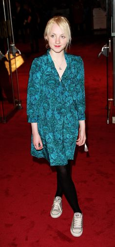 Style Profile: Evanna Lynch at the Golden Compass Premiere in London, November 2007