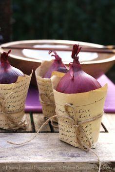 purple onions
