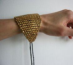 Handmade Antique Yellow-Gold Bracelet by Gypsya
