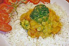 Kürbis - Möhren - Brokkoli - Curry mit Kokosmilch (Rezept mit Bild)   Chefkoch.de