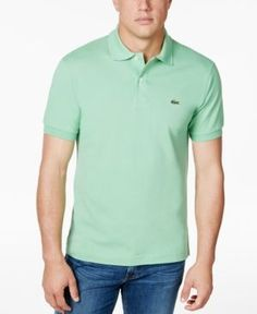 Lacoste Classic Pique Polo Shirt, L.12.12 - Green 2XL