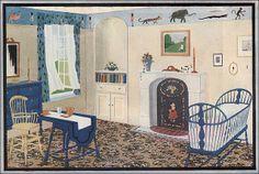 Ladies' Home Journal, 1922,Blabon Art Linoleum - Nursery by American Vintage Home