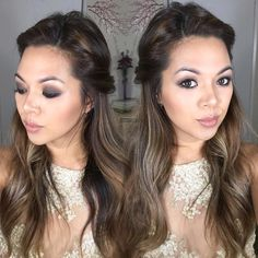 Twisted Half Up Hairstyle