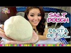 Arcilla Polimerica Casera Más fácil que la porcelana fria Pasta de Sal Receta - YouTube
