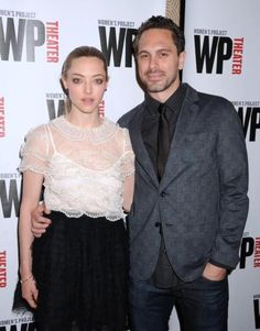 Amanda Seyfried and Thomas Sadowski met while performing in Neil LaBute's play The Way We Get By and now they're a couple.