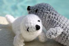 Crochet/Amigurumi Seals free pattern amigurumi
