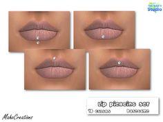 Lip Piercing Set