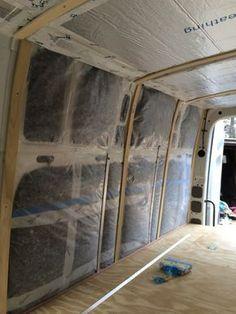 Cedar Panels | Sprinter Van Diaries