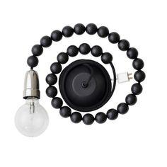 Reitti-valaisin, musta, Aarikka Black And White Interior, Light Fittings, Light Bulb, Table Settings, Wall Lights, Interior Design, Lighting, Gifts, Accessories