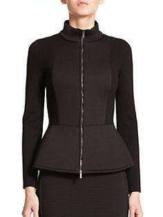 Armani Collezioni - Neoprene-Panel Jacket