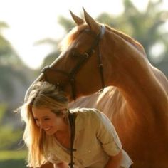 Boyfriend kisses your hair, you're pissed  because you spent an hour on it. Horse kisses your hair, and you're walking on cloud nine because you know true love when you smell it.