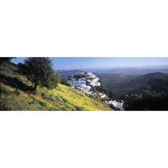 Casares Spain Canvas Art - Panoramic Images (36 x 12)