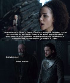 """69 Thoughts I Had Watching This Week's """"Game Of Thrones,"""" Including """"NICE"""""""