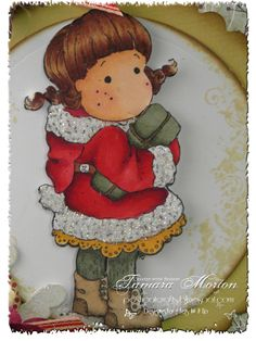 The cute Tilda I Card, Magnolia, Cookies, Cute, Desserts, Crafts, Food, Crack Crackers, Tailgate Desserts