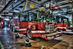 Chicago Fire Department  Truck 3, Engine 42 | Shared by LION