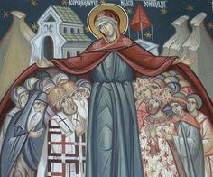 Acoperământului Acoperământului Preasfintei noastre de Dumnezeu Născătoarei şi pururea Fecioarei Maria - Google Search