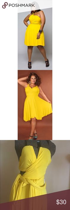 Monif C convertible dress Can be worn several different ways. Monif C. Dresses