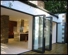 Thermal Break Aluminum Folding Bi Folding Patio Door - China Aluminum Folding Door, Aluminum Bi Folding Door | Made-in-China.com