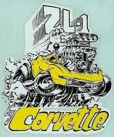 CORVETTE Car-Toon