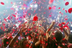 the very first party of 2012 at Pacha Ibiza