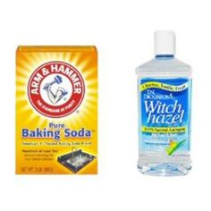 Health.com share how to use witch hazel, baking soda and eye drops to eliminate acne and get clearer skin.