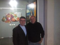 Na missa, no Jardim Universo, com Padre Luiz Paulo. — em Mogi das Cruzes.