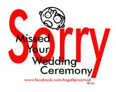 Say What? Who Is Really Listening To The Wedding Ceremony...? Did They Miss Your Wedding Ceremony On Purpose? The Problem Of The Boring Wedding Ceremony! By Celebrity Wedding Officiator, Dr. Linda - http://www.facebook.com/legallymarried