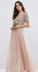 01e0a64a5d4 Φορέματα maxi roz forema makri gia vaptisi Φορέματα Παράνυμφων, Φορέματα  Για Χορό, Επίσημα Φορέματα