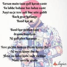Draamebaaziyan Lyrics by Jordan Sandhu is latest Punjabi song with music composed by the musician Jassi X. Grab its lyrics which is written by Bunty Bains. Song Lyric Quotes, Song Lyrics, Playlists, Hindi Quotes, Songs, Writing, Memes, Music, Music Lyrics