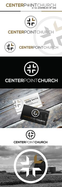 Logo and Branding for small town church in MN. Design by HemmepowerDesign