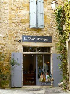 Shops of lourmarin provence french shops прованс. Luberon Provence, Provence France, Saint Saturnin, Vaison La Romaine, Chateauneuf Du Pape, French Restaurants, Shop House Plans, Exterior, Shop Fronts
