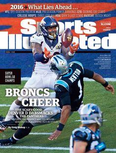 Sports Illustrated 2016 Super Bowl Champs Denver Broncos Von Miller No Label Denver Broncos Merchandise, Johnny Unitas, Denver Broncos Super Bowl, Si Cover, Sports Illustrated Covers, Joe Namath, Award Winning Photography, Sports Magazine