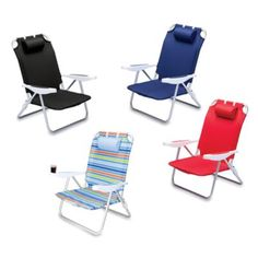 Coleman Beach Chair Recliner Orange Camping Chairs