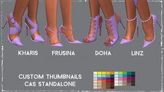 Simsworkshop: Madlen`s Shoe Dump 2 recolored by Sympxls • Sims 4 Downloads