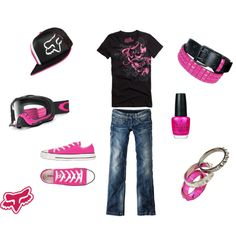 perfffff. outfit for me! love fox & pink! win, win situation for cassie :)