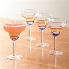 Santa Fe Margarita Glasses