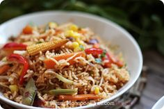 Schezwan Indo-Chinese Fried Rice