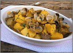 La Cocina de los inventos: Caldereta de Patatas y Almejas