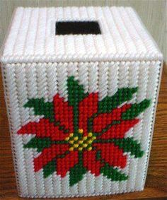 Download Plastic Canvas Patterns | instant download of this pattern christmas boutique tissue pattern 53
