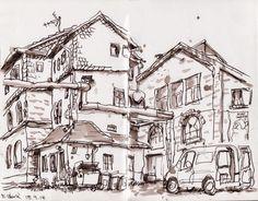 Urban Sketchers Germany: Weimar III
