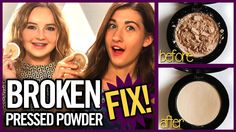 How to Fix Broken Makeup - Makeup Mythbusters w/ Maybaby and JustJJessica