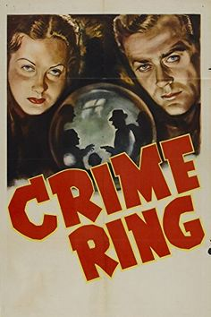 CRIME RING - Allan Lane - Republic Pictures - Movie Poster.