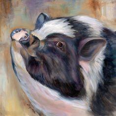 Daisy...a potbellied pig in Milton, GA