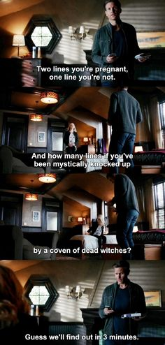 The Vampire Diaries TVD 7X07 - Caroline and Alaric