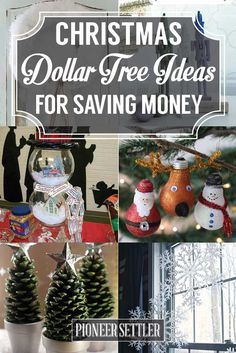 Christmas Dollar Tree Ideas for Saving Money really good video at bottom on towel angels