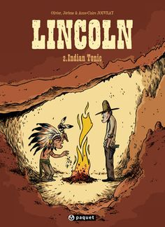Lincoln, tome 2 : Indian Tonic de Olivier Jouvray - BD JOU