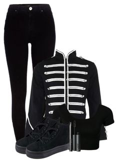 """""""Join the Black Parade ~ My Chemical Romance The Black Parade era inspirated outfit"""" by lottie-xxo ❤ liked on Polyvore"""