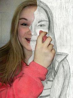 Eraser Portrait