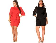 Plus Size Jumpsuits for Women | ... Curves --For the Curvy Confident Woman: Monif C-Global Chic Collection
